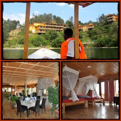 Cormoran Lodge - Kibuye on Lake Kivu