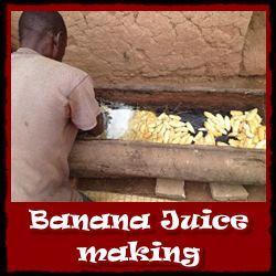 Banana-Juice-Making