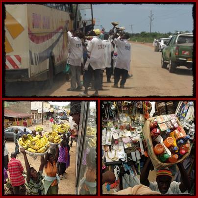Those Roadside Entrepreneur Hawkers in Uganda
