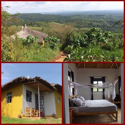 Isunga Lodge overlooking Kibale Forest National Park