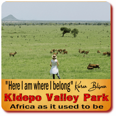 Africa as it used to be