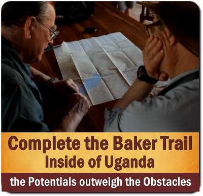 Sir Samuel and Lady Florence Baker Trail in Northern Uganda