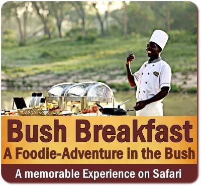 Traditional Bush Breakfast on Safari in Uganda