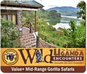 Kabiza Wilderness Gorilla Chimpanzee Trekking Wildlife Safaris -Uganda