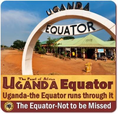 Visiting the Equator in Uganda