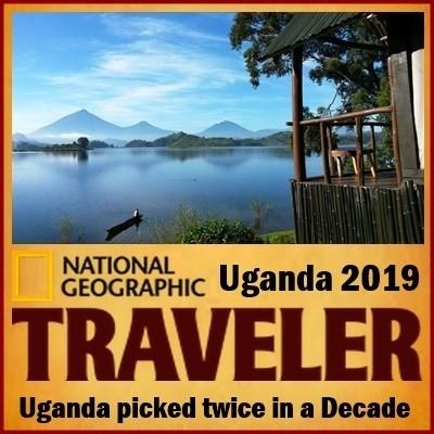 Uganda is on the National Geographic Traveller Cool List for 2019