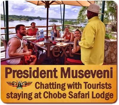 The Luxury Chobe Safari Lodge on the Nile in Murchison Falls Park