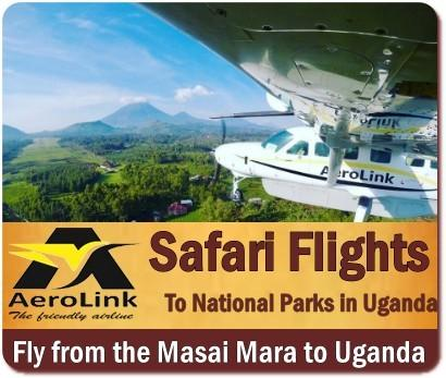Getting to Uganda - By Flying to Entebbe or Kigali