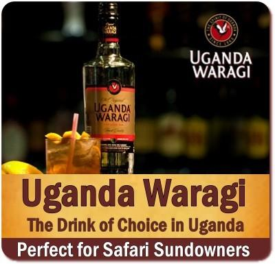 Drinks and Refreshments on Safari in Uganda - the Pearl Of Africa