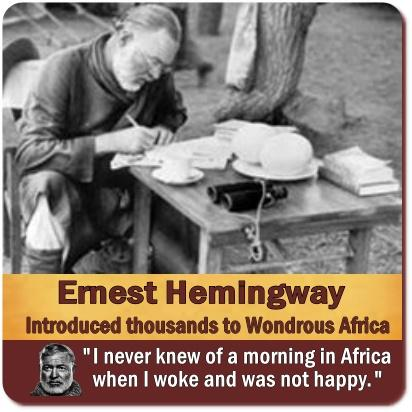 Ernest Hemingway Crashes in Airplane at Murchison Falls