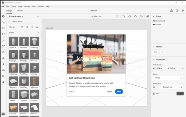 Adobe Dimension CC 2020 Crack V3.4.1 Full Version + Patch {Latest}