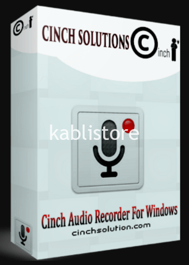 Cinch Audio Recorder 4.0.2 Crack + KeyCode full Version 2020