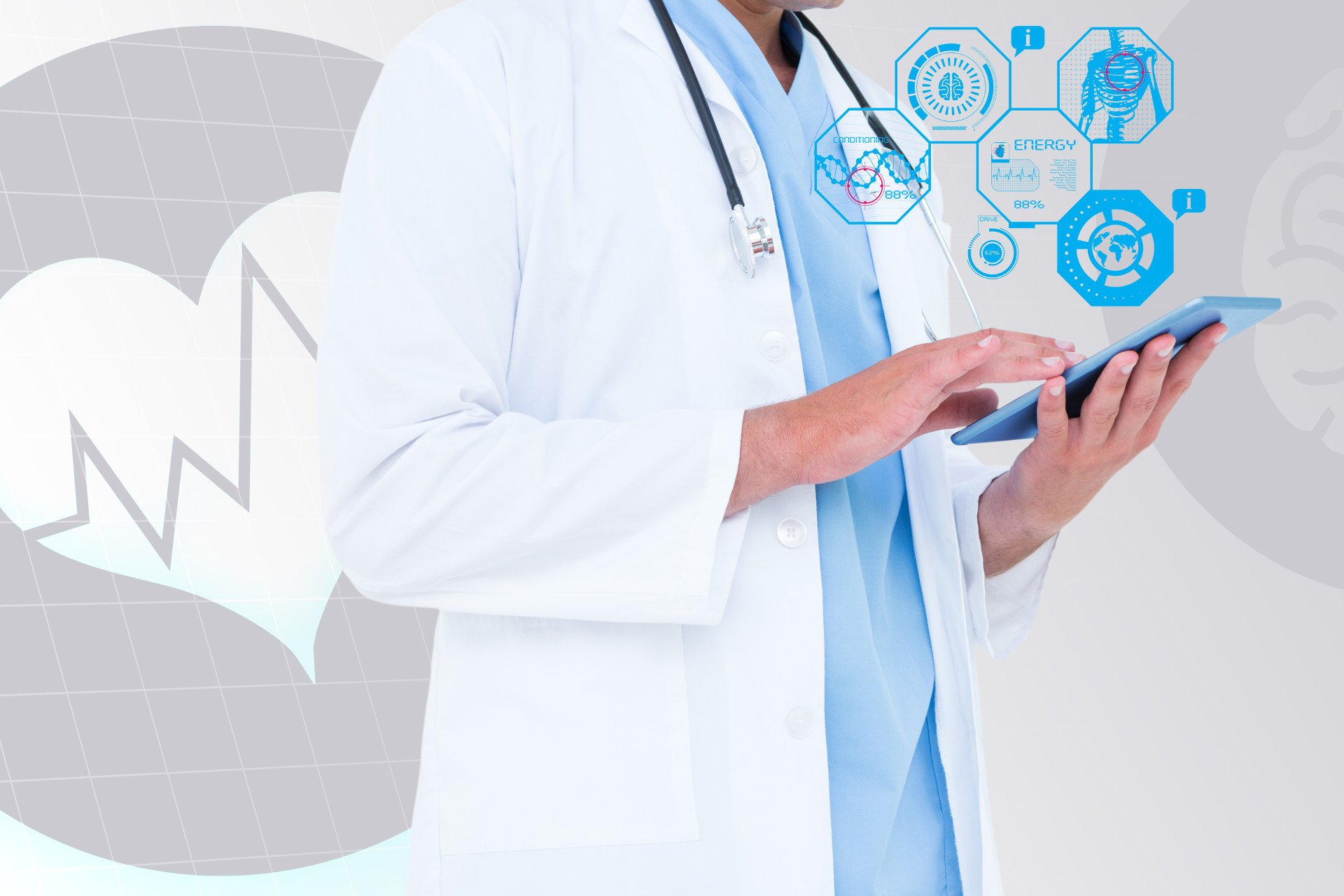 Kabo Health-online-medical-care-physician-using-tablet