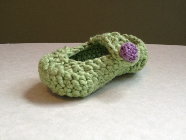 Baby Bootie Completed