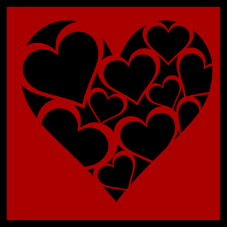 Heart of Hearts - Free SVG Cutting File for Valentine's Day