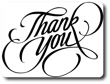 Thank You Sentiment - Free Cutting File SVG Download