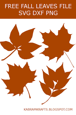 Fall Leaves - Free Cutting Files SVG