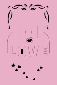 Heart Card Pop Up SVG File
