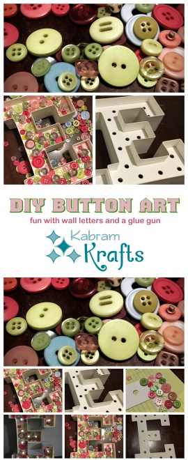 DIY Button Art
