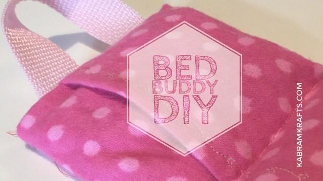 DIY BED BUDDY