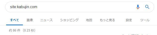 ブログ運営報告15日目_Googleインデックス調査