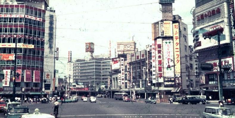 昭和40年頃の渋谷