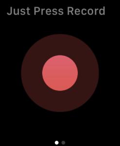 Apple Watch 録音