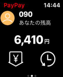 Apple Watch PayPay