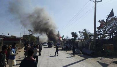 Magnetic bomb blast in Kabul