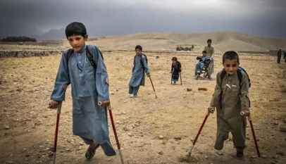 The endless agony of war for Afghan children