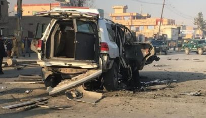 Magnetic bomb leaves three civilians wounded in Kabul