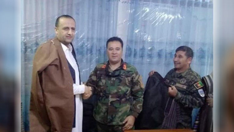Faryab protest; newly appointed governor