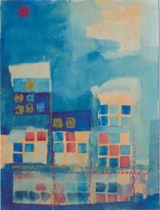 "A painting ""Microstates/Macrostates"""