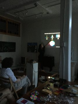 The Physics of Color Workshop, Gallery 263
