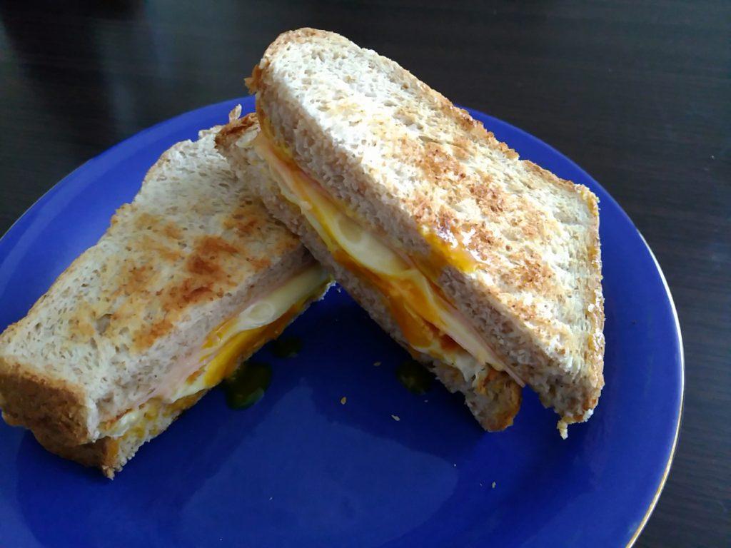 全粒粉で作る手軽なサンドイッチ