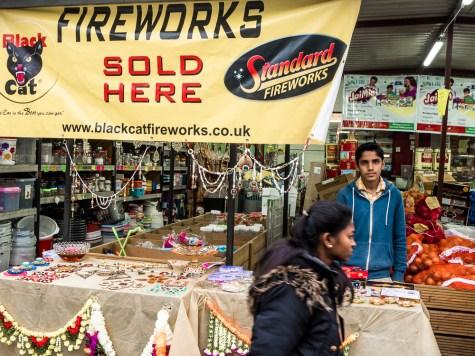 Wembley street market