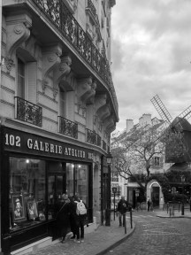 The mills od Montmartre