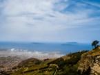 Egadi Arcipelago viewed from Erice