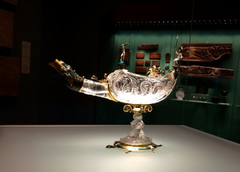 Arab collection in Hermitage - rock crystal lamp