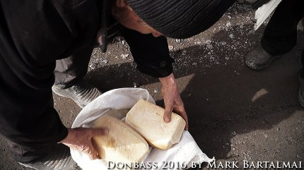 Bread for the inhabitants of the settlement