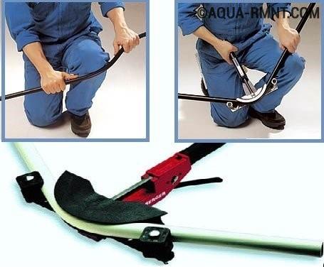 Îndepărtarea țevilor metalice-plastic utilizând o țeavă-Bender-CrossBow