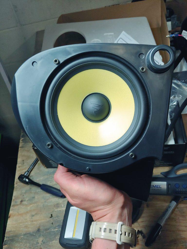 Harley Davidson speakers upgrade
