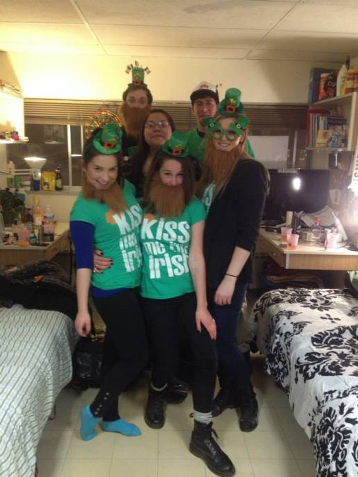 St Patrick's Day on Campus, '14