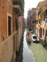 Venice's famous Gondola's