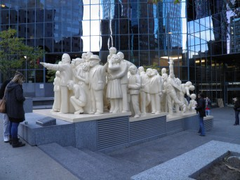 Statues in Montreal