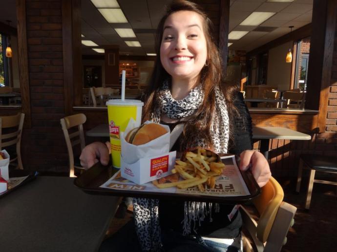 American fastfood!
