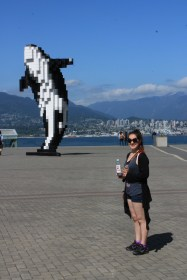 Pixelated whale, Vancouver