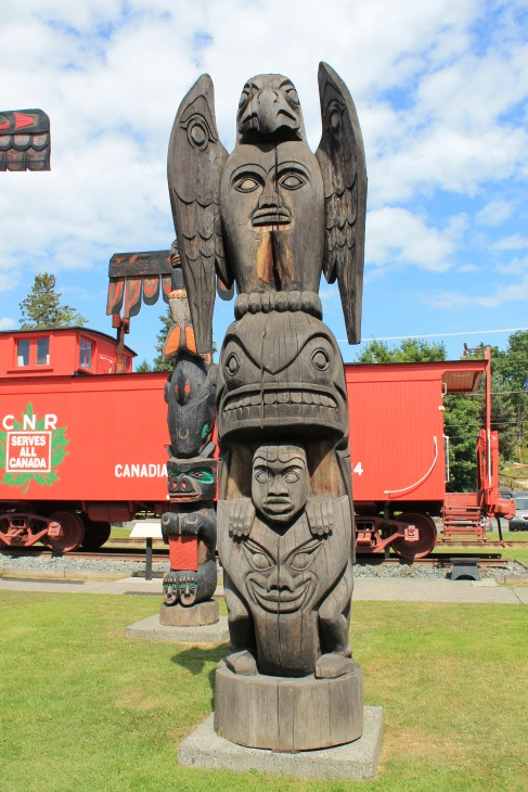 Duncan, home of the Totem Pole
