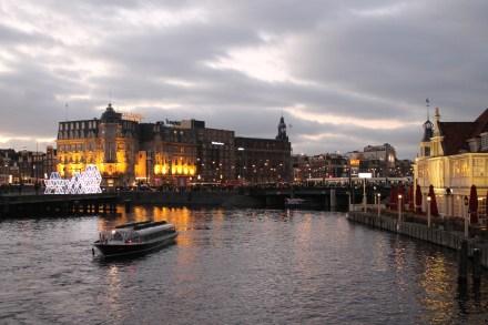 Light Show in Amsterdam
