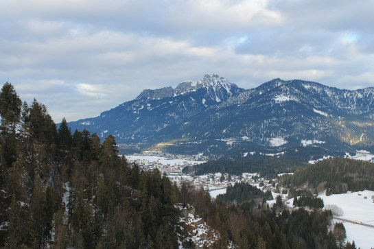Reutte from above